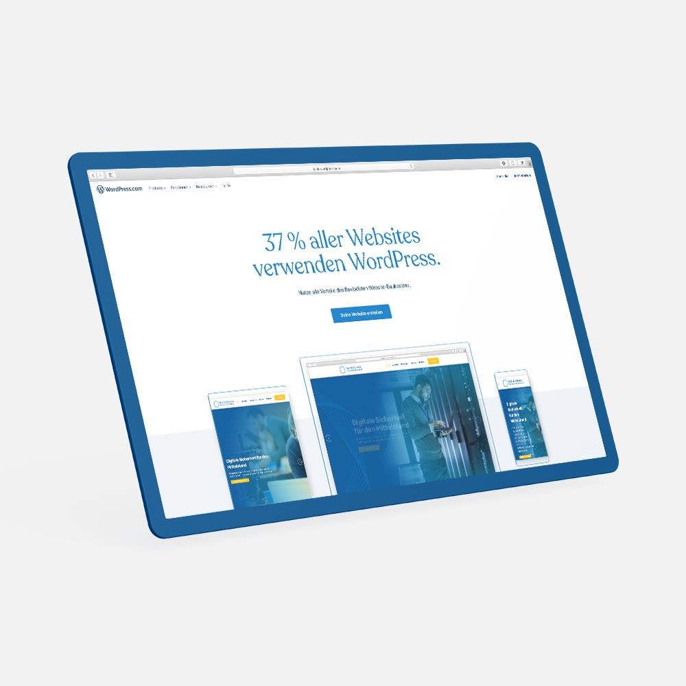 37% aller websites sind mit WordPress entwickelt