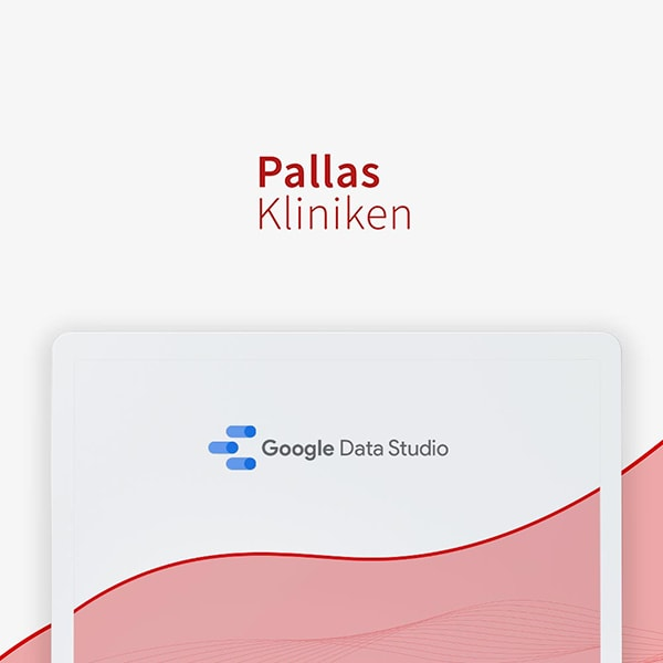 Website Referenzen Pallas 3 Google Data Studio